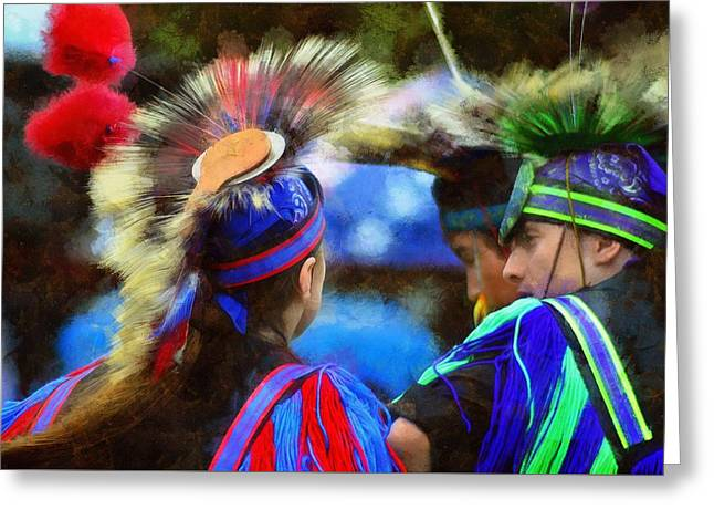 Powwow 15 Greeting Card