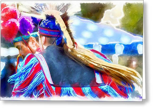 Powwow 16 Greeting Card