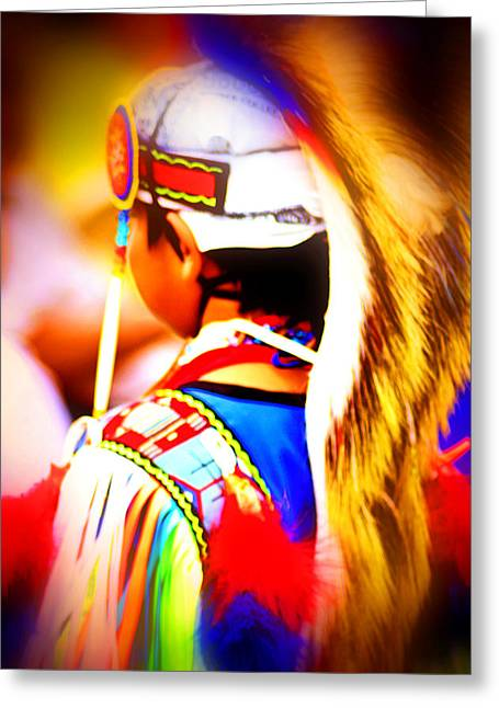 Powwow 2 Greeting Card