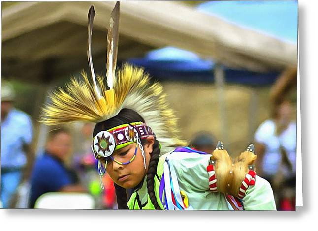Powwow 23 Greeting Card