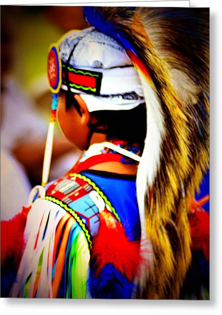 Powwow 3 Greeting Card