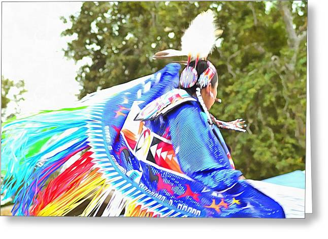 Powwow 44 Greeting Card