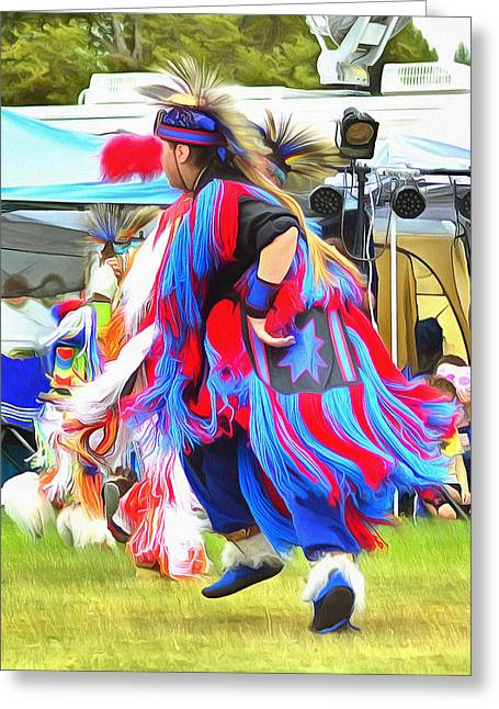 Powwow 47 Greeting Card