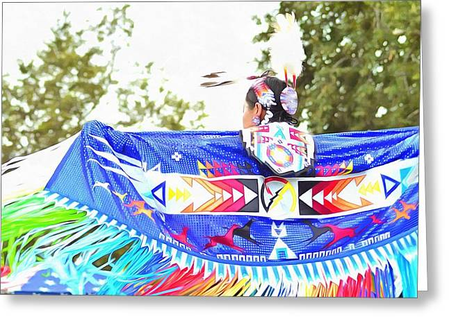 Powwow 50 Greeting Card