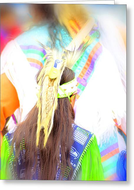 Powwow 55 Greeting Card