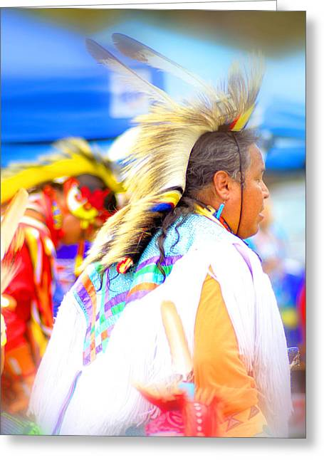 Powwow 56 Greeting Card