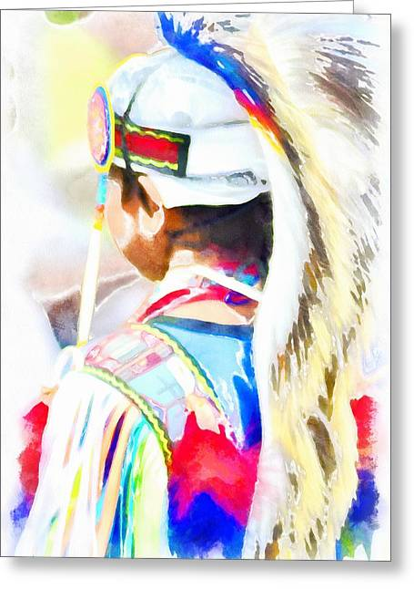 Powwow 8 Greeting Card