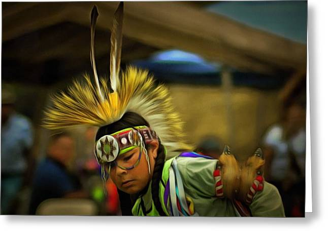 Powwow 9 Greeting Card