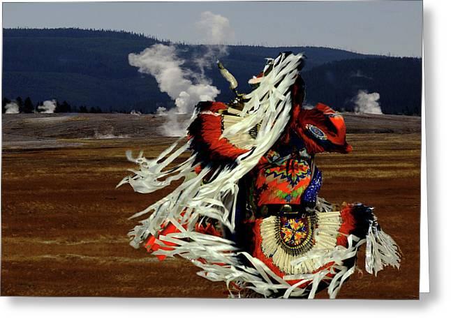 Powwow On Sacred Lands Greeting Card