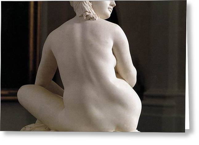 Pradier James Odalisque Rear View Greeting Card