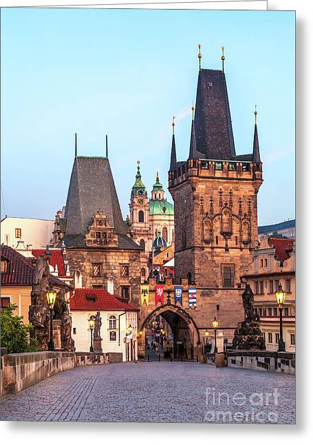 Prague 08 Greeting Card