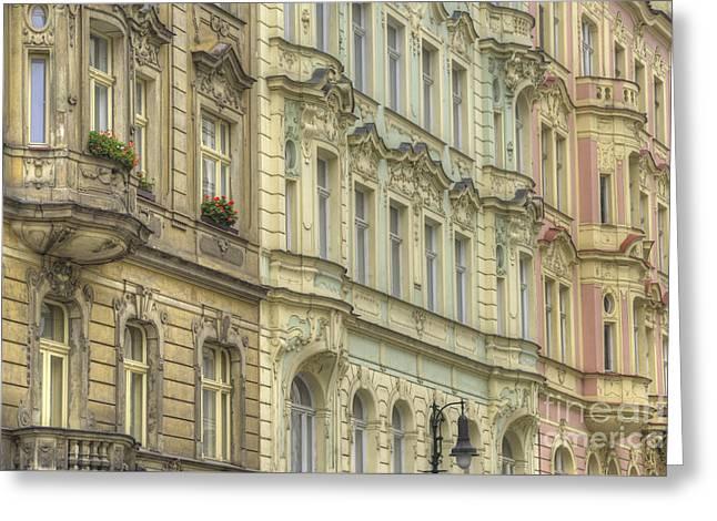 Prague. Architectural Detail Greeting Card