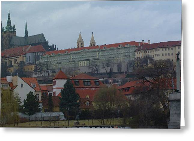 Prague Castle In Prague Czech Republic Greeting Card