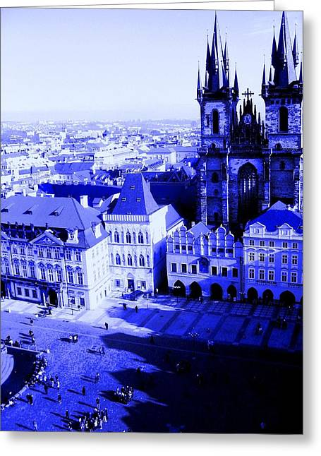 Prague Cz Greeting Card