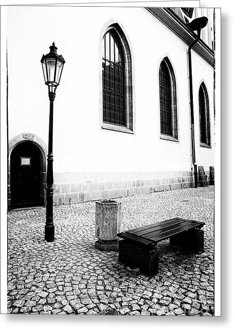 Prague Meeting Place Greeting Card
