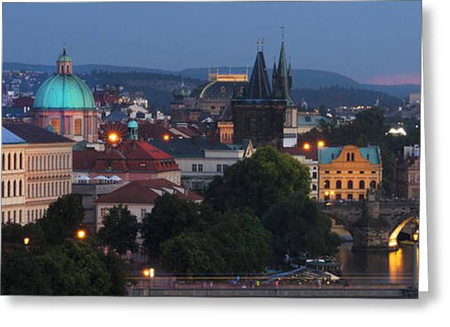 Prague - Most Beautiful City In The World Greeting Card