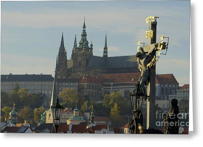 Praha, Charles Bridge Greeting Card