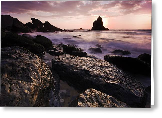 Praia Da Adraga Greeting Card by Andre Goncalves