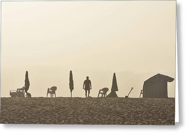 Praia Da Figueira Portugal Greeting Card by Marek Stepan