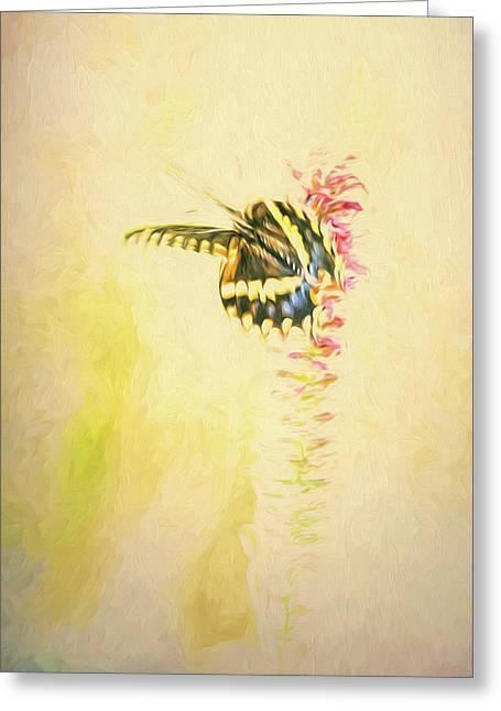 Prairie Butterfly 3 Greeting Card
