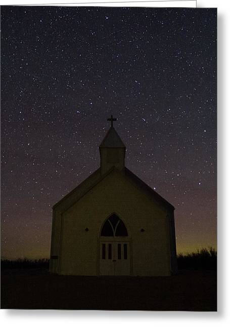 Prairie Church Greeting Card