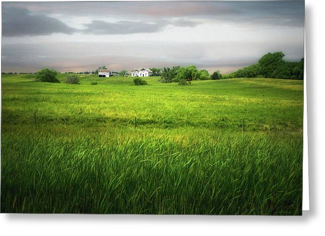 Prairie Farm Greeting Card