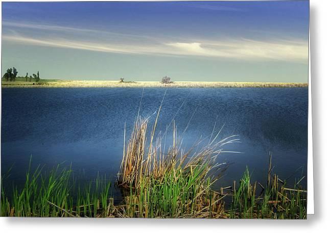 Prairie Lake Greeting Card