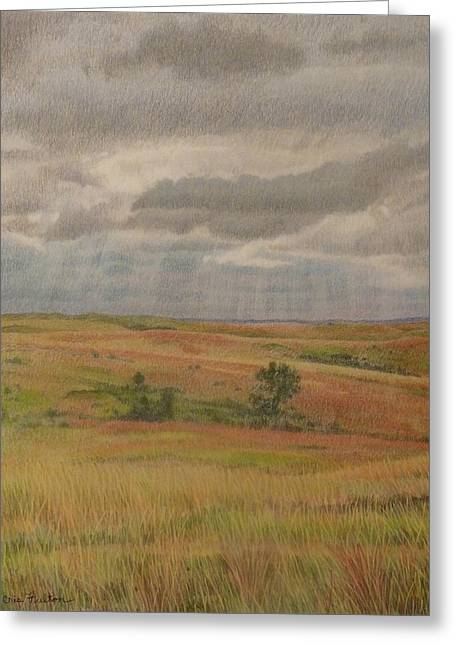 Prairie Light Greeting Card