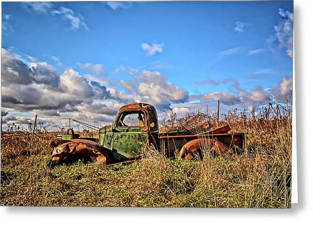 Prairie Memories Greeting Card by Bonfire Photography