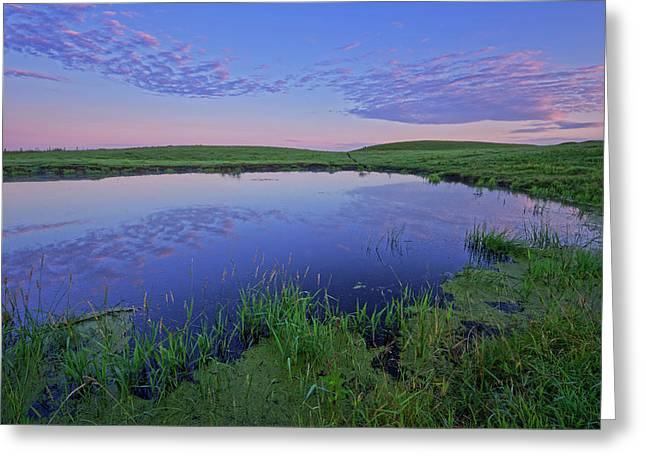 Prairie Reflections Greeting Card