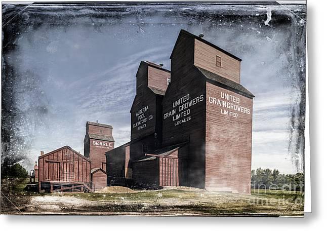 Greeting Card featuring the photograph Prairie Sentinels II by Brad Allen Fine Art