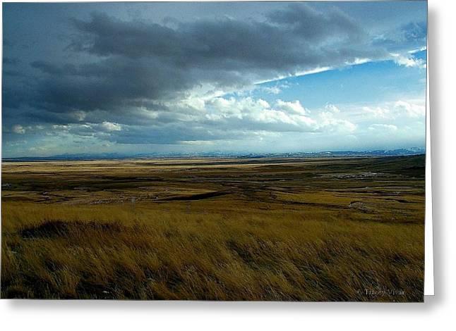 Prairie Storm Greeting Card