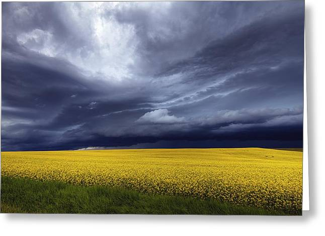 Prairie Storm Greeting Card