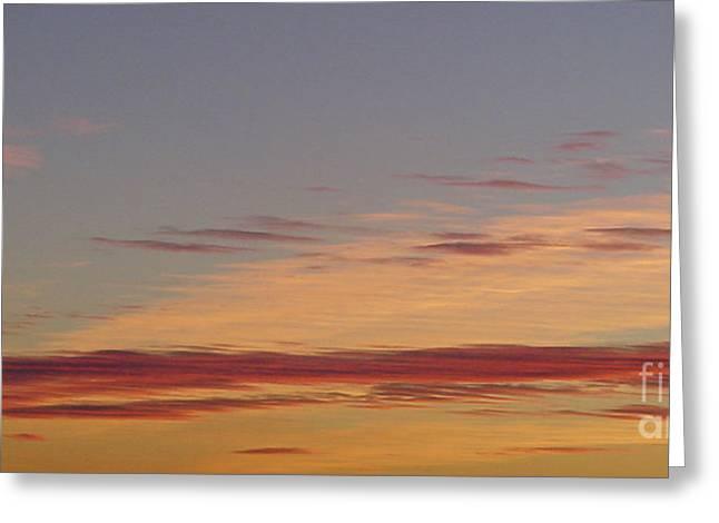 Prairie Sunset 2 Greeting Card