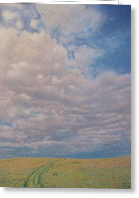 Prairie Trail Greeting Card