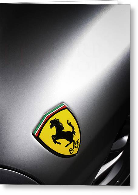 Prancing Horse Greeting Card