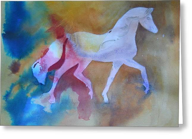 Prancing Pony Greeting Card