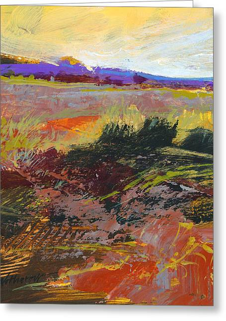Prarie Sketch Greeting Card by Dale  Witherow