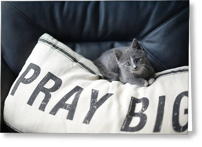 Pray Big Greeting Card