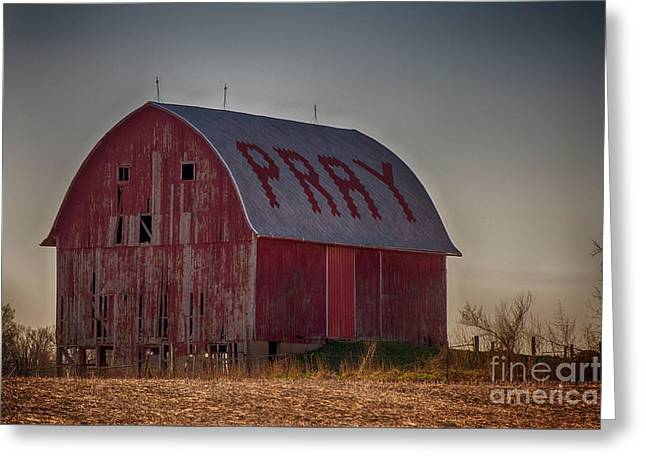 Pray Greeting Card by JRP Photography