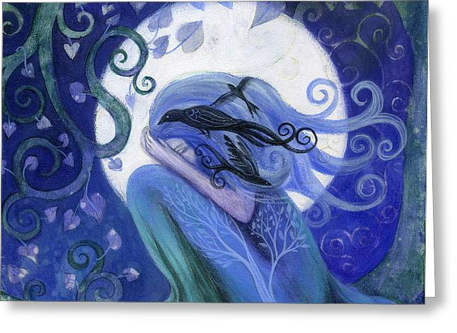 Prayer Greeting Card by Amanda Clark