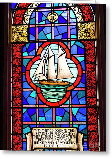 Prayer At Sea Greeting Card