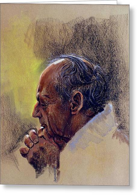 Prayer. Hope In God Greeting Card