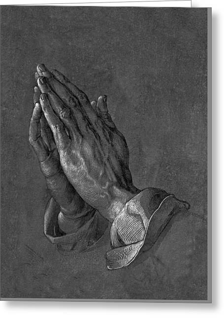 Praying Hands 1508 Greeting Card by Movie Poster Prints