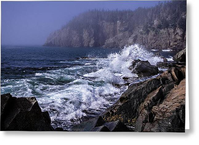 Pre Irene Surge Greeting Card by Marty Saccone