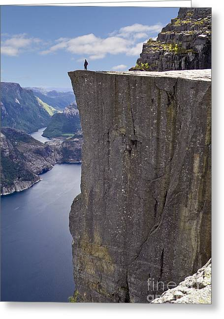 Preikestolen Greeting Card
