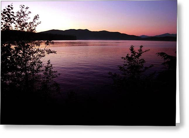 Preist Lake Sleeping Greeting Card