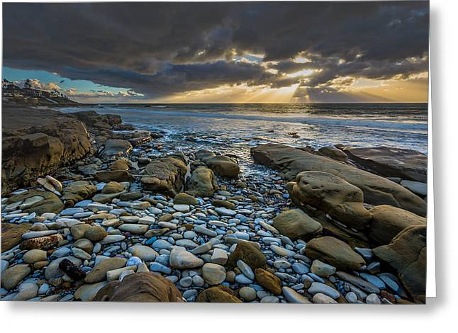 Prelude To The Storm Greeting Card by Peter Tellone