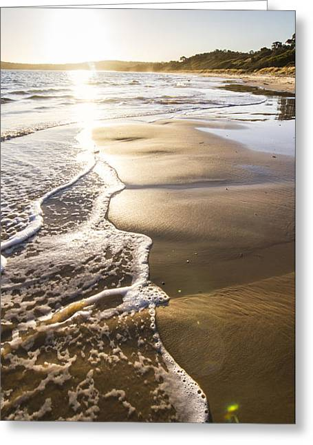 Premium Ocean Landscape Greeting Card by Jorgo Photography - Wall Art Gallery
