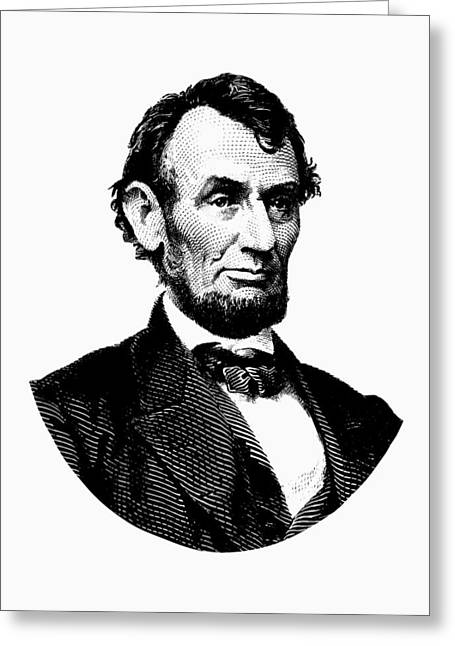 President Abraham Lincoln Graphic Greeting Card